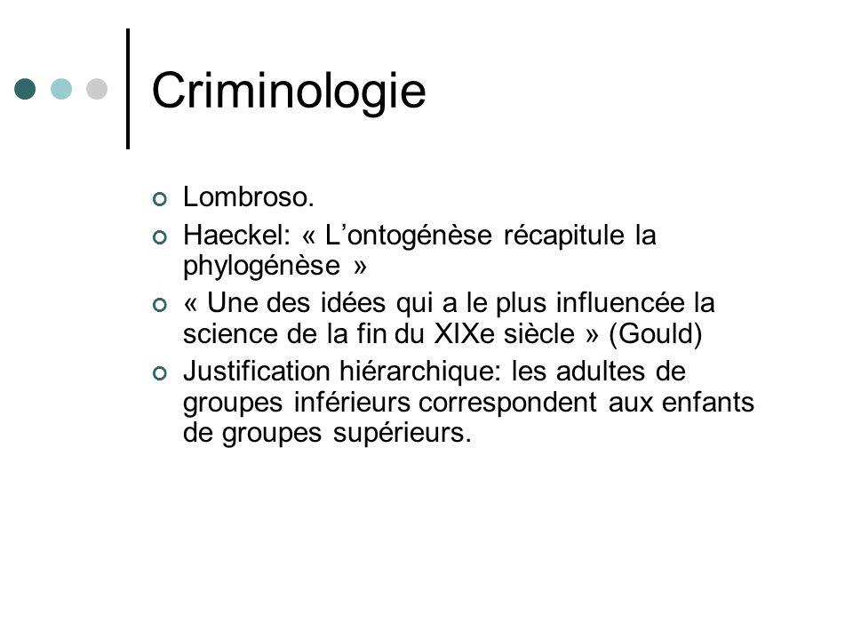 Criminologie Lombroso.