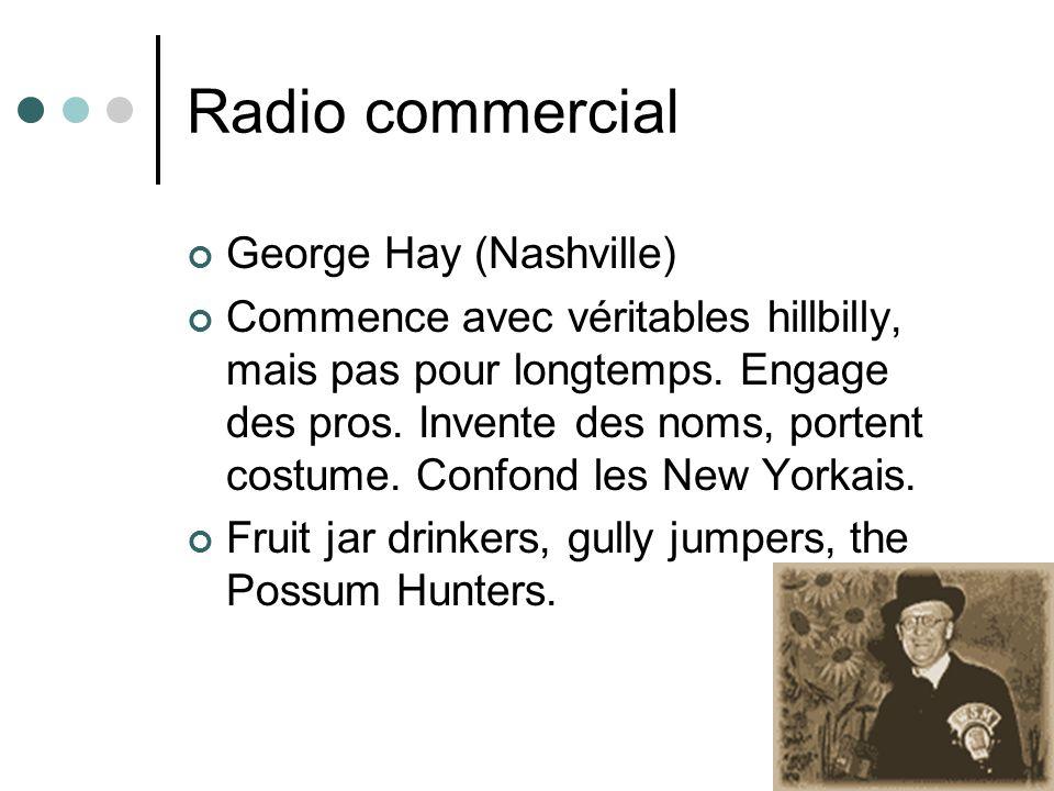 Radio commercial George Hay (Nashville)