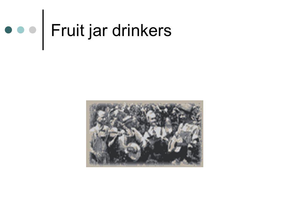 Fruit jar drinkers