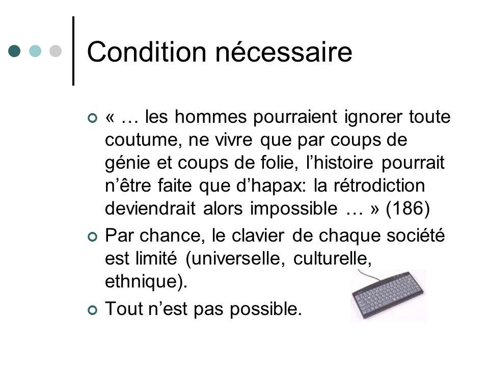 Condition nécessaire