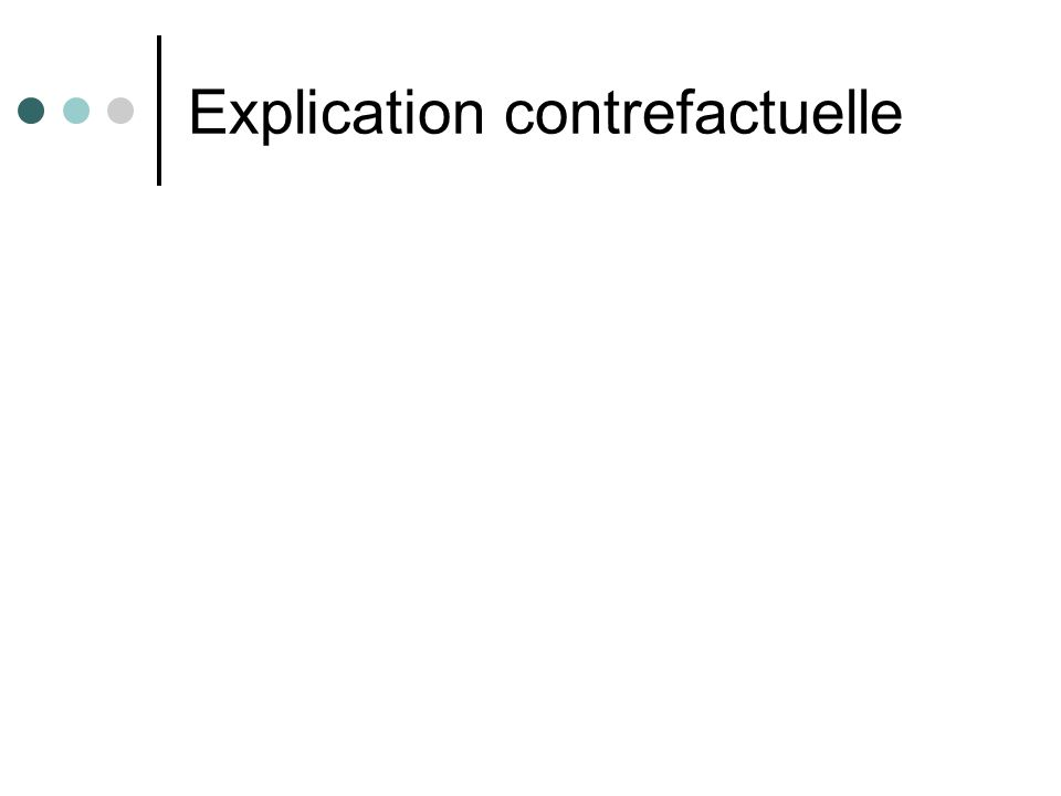 Explication contrefactuelle