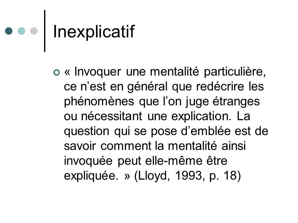 Inexplicatif