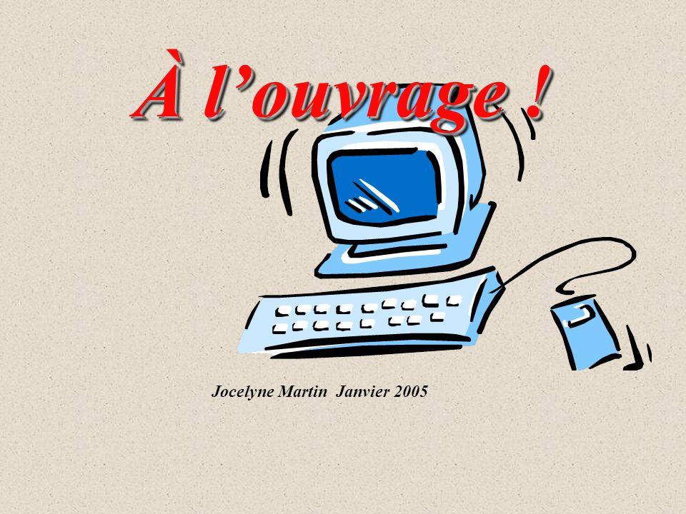 Jocelyne Martin Janvier 2005