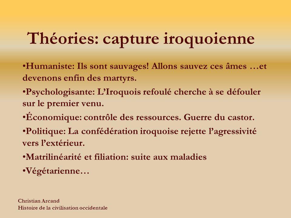 Théories: capture iroquoienne