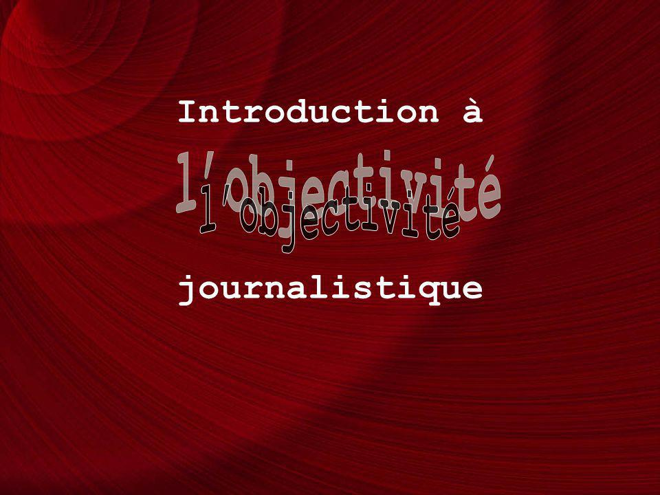 Introduction à journalistique