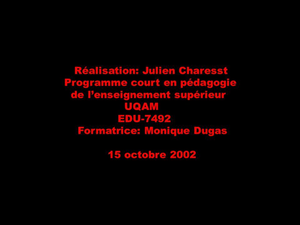 Réalisation: Julien Charesst