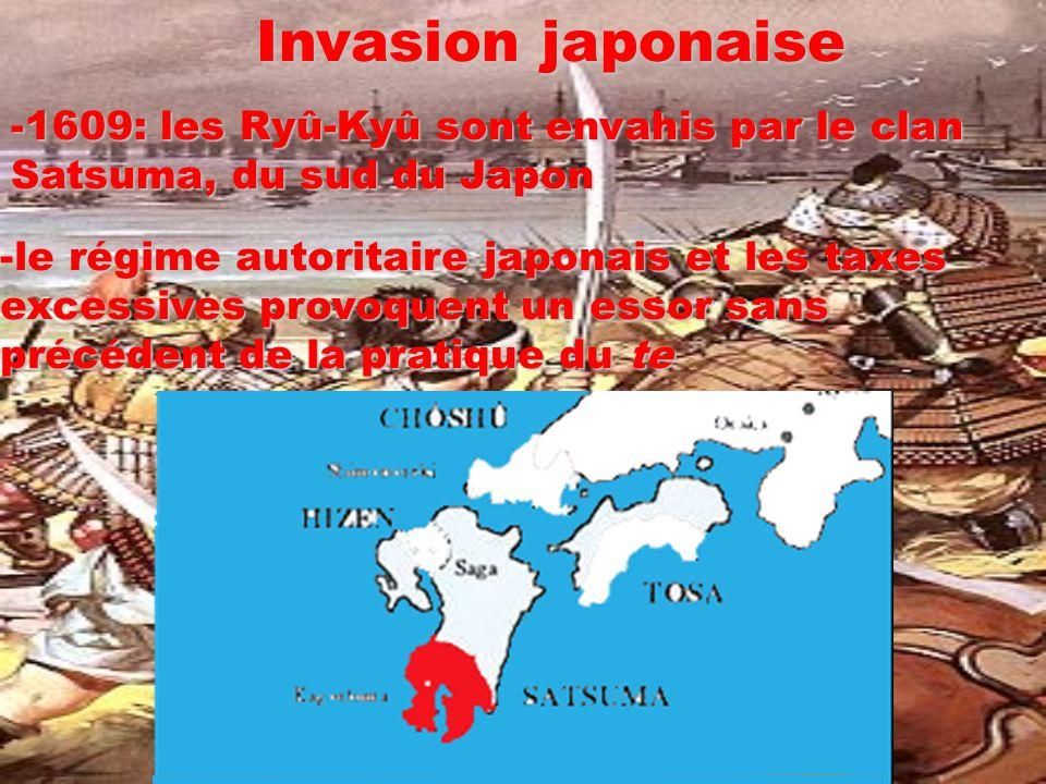 Invasion japonaise 1609: les Ryû-Kyû sont envahis par le clan