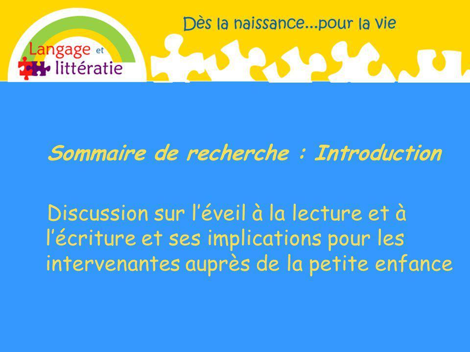 Sommaire de recherche : Introduction