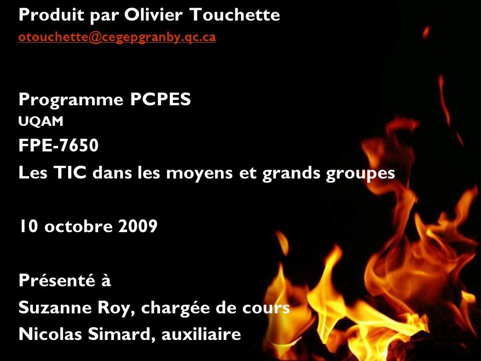 Produit par Olivier Touchette