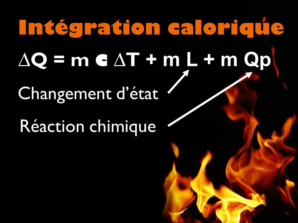 Intégration calorique