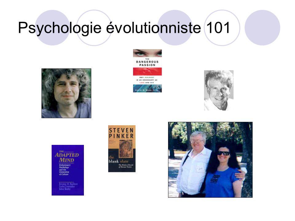Psychologie évolutionniste 101