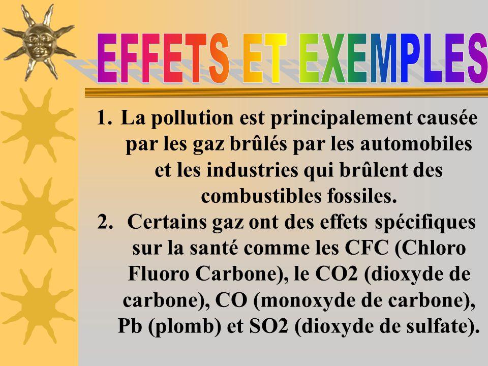 EFFETS ET EXEMPLES