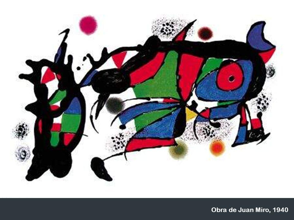 Obra de Juan Miro, 1940
