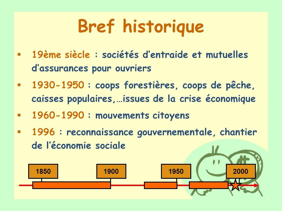 Bref historique 19ème siècle : sociétés d'entraide et mutuelles d'assurances pour ouvriers.