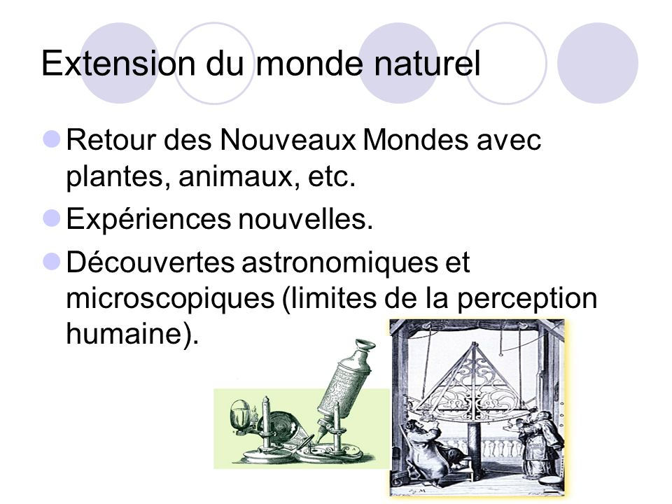 Extension du monde naturel