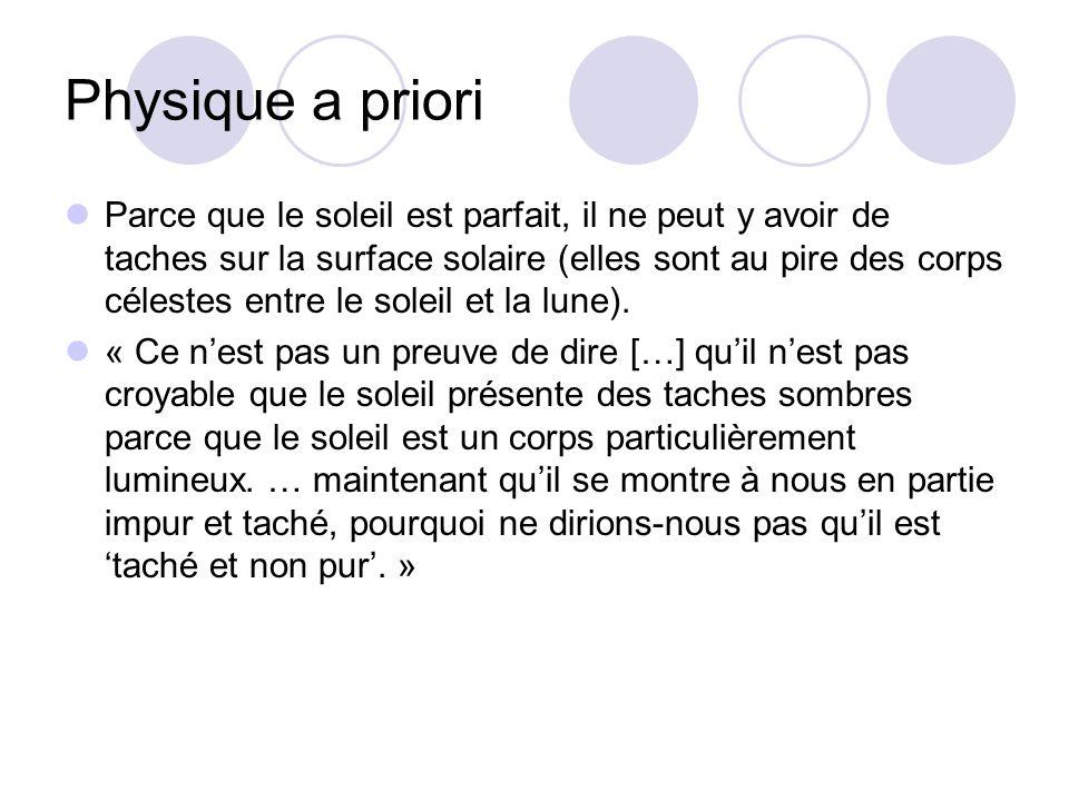 Physique a priori