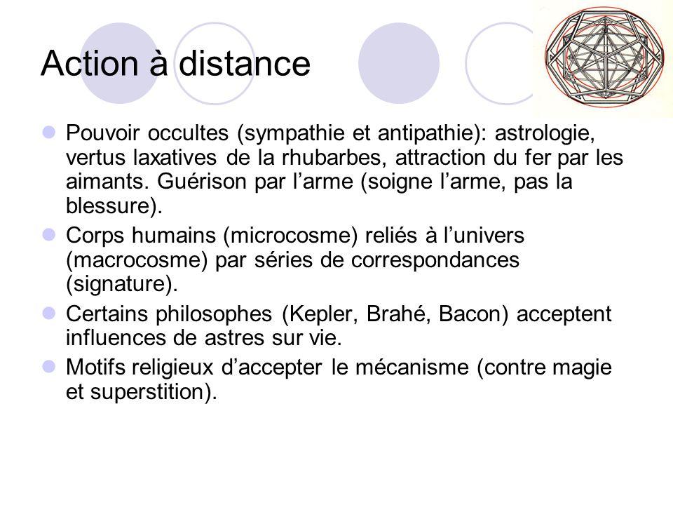Action à distance