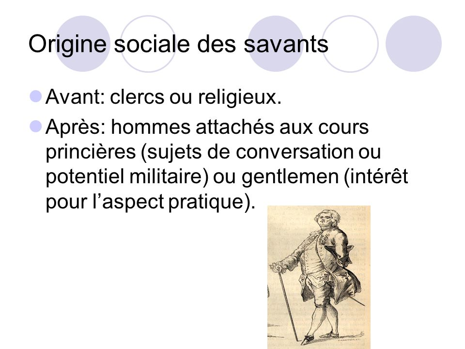 Origine sociale des savants