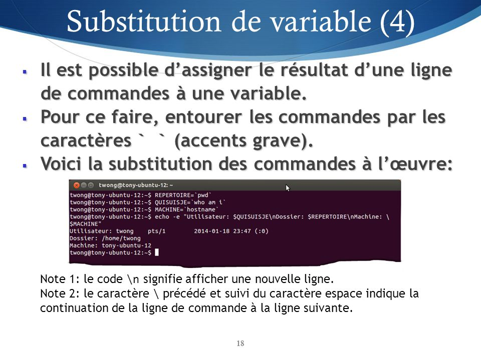Substitution de variable (4)