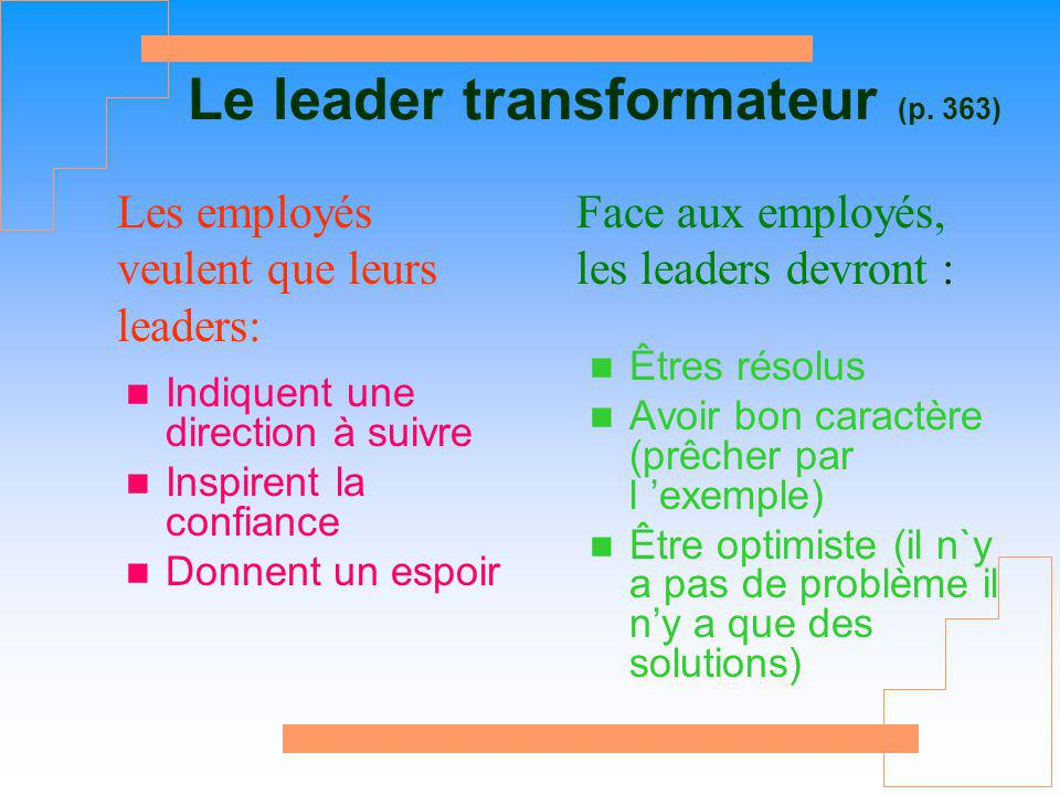 Le leader transformateur (p. 363)