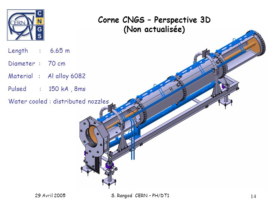 Corne CNGS – Perspective 3D