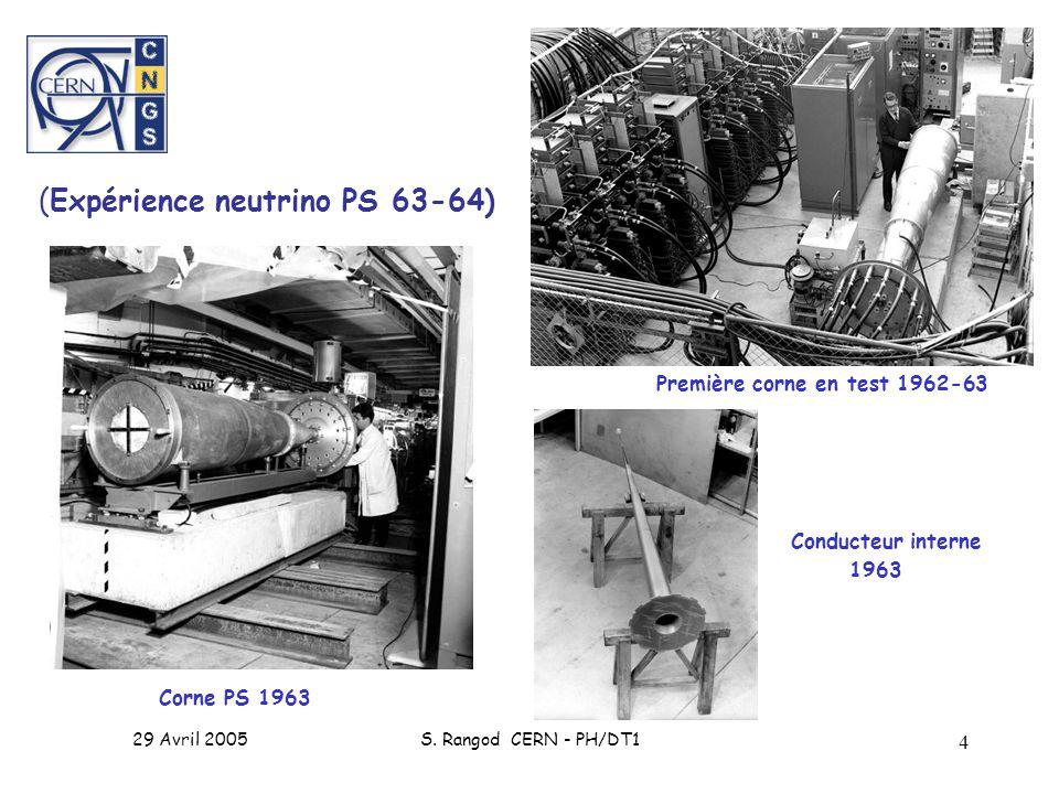 Conducteur interne 1963 (Expérience neutrino PS 63-64)