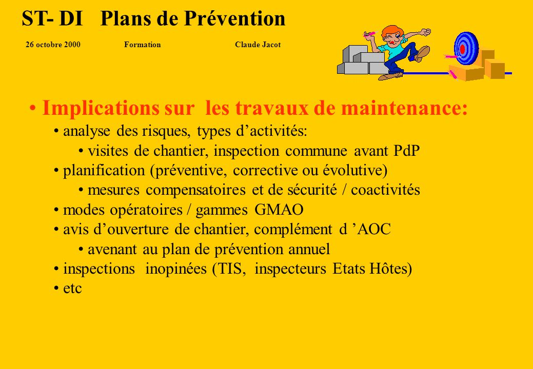 ST- DI Plans de Prévention