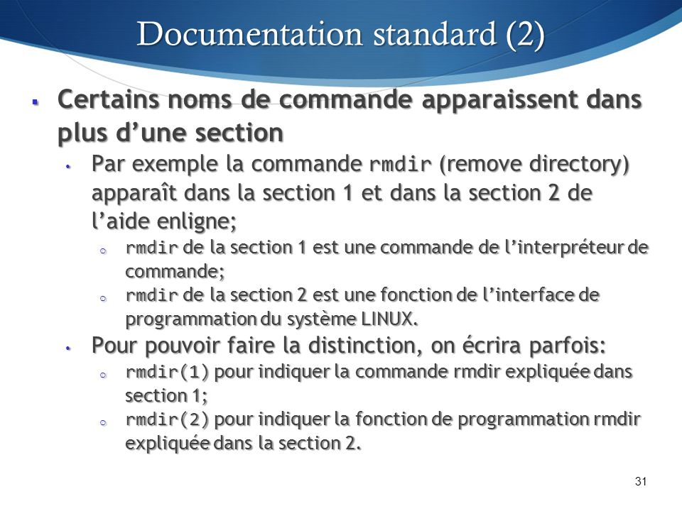 Documentation standard (2)