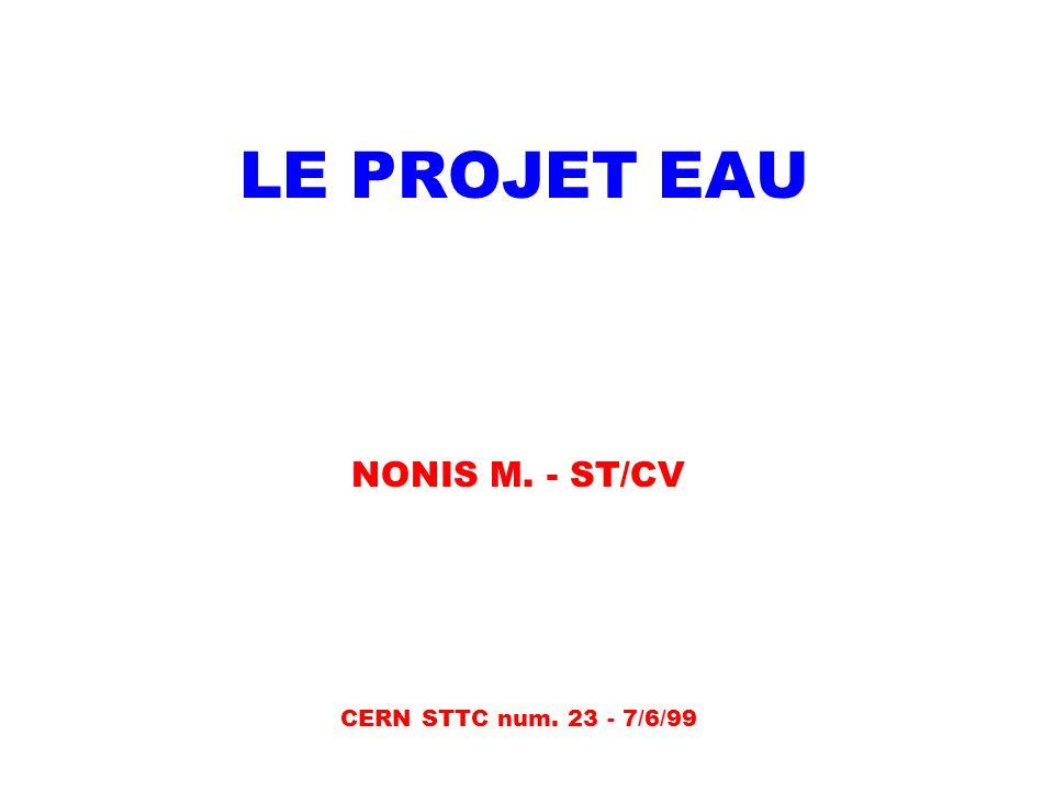 NONIS M. - ST/CV CERN STTC num. 23 - 7/6/99