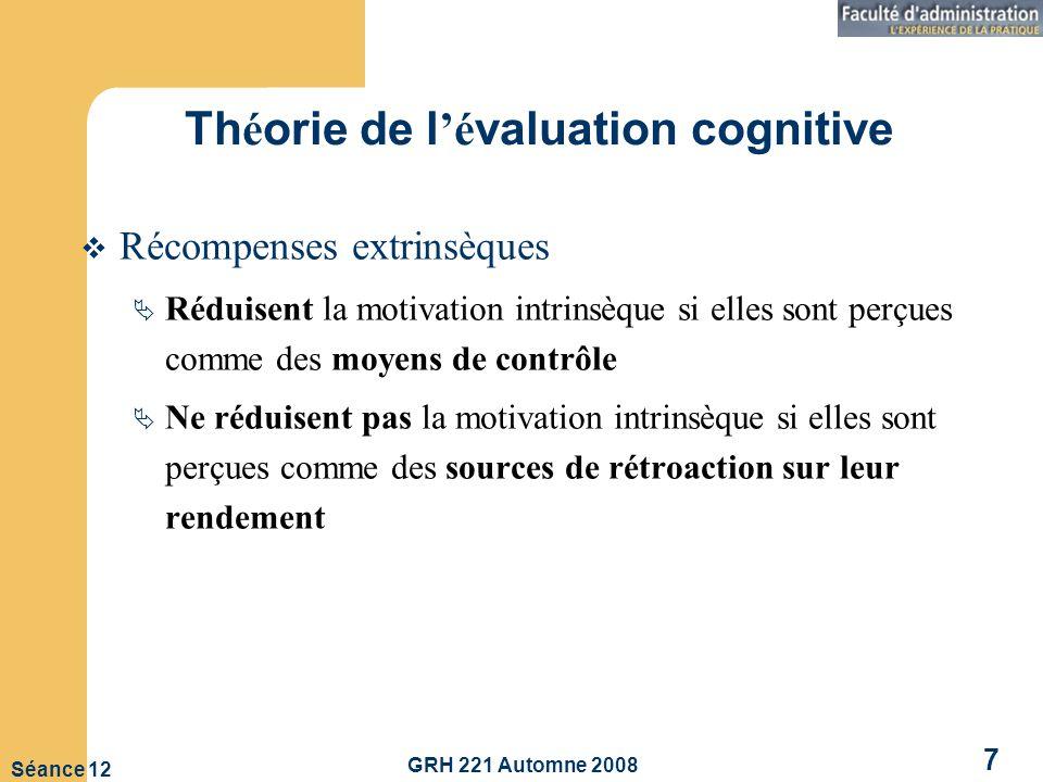 Théorie de l'évaluation cognitive