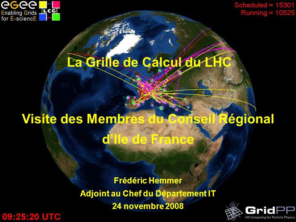 La Grille de Calcul du LHC