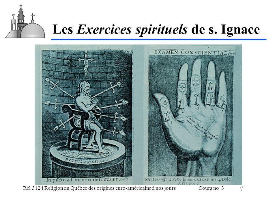 Les Exercices spirituels de s. Ignace