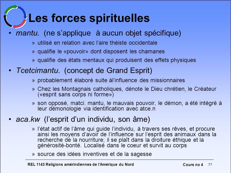 Les forces spirituelles