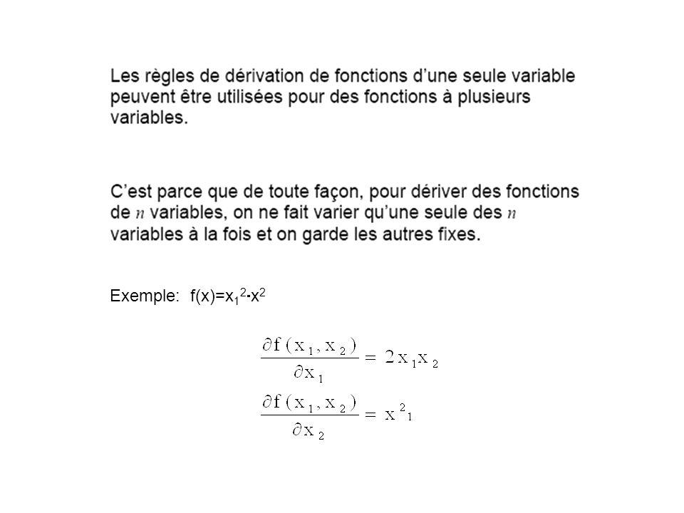 Exemple: f(x)=x12x2