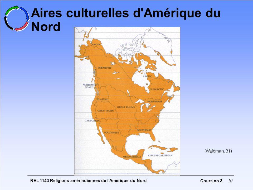 Aires culturelles d Amérique du Nord