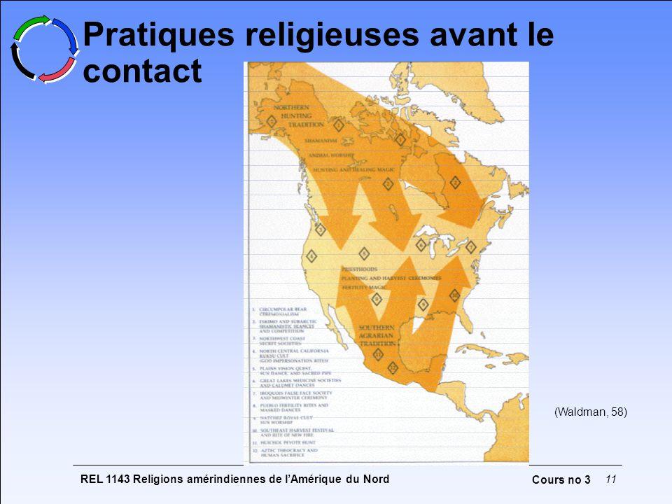 Pratiques religieuses avant le contact