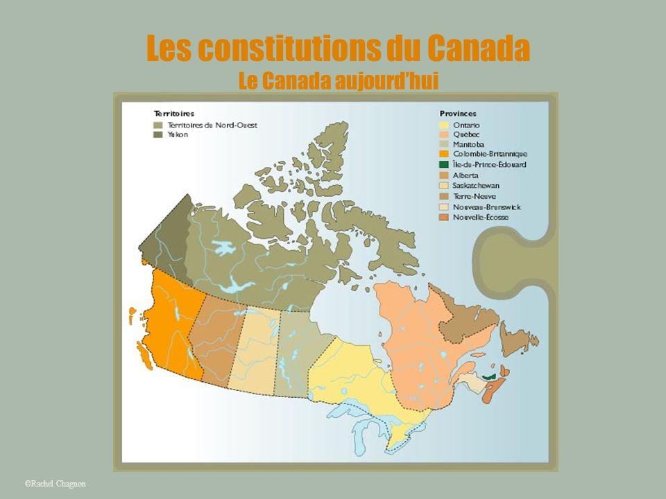 Les constitutions du Canada