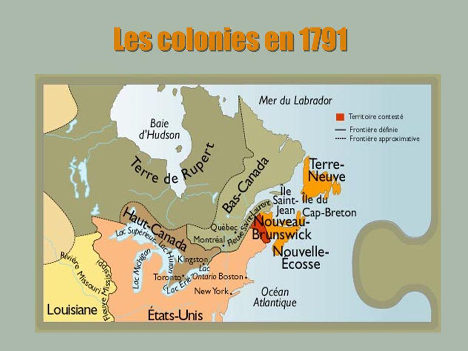 Les colonies en 1791