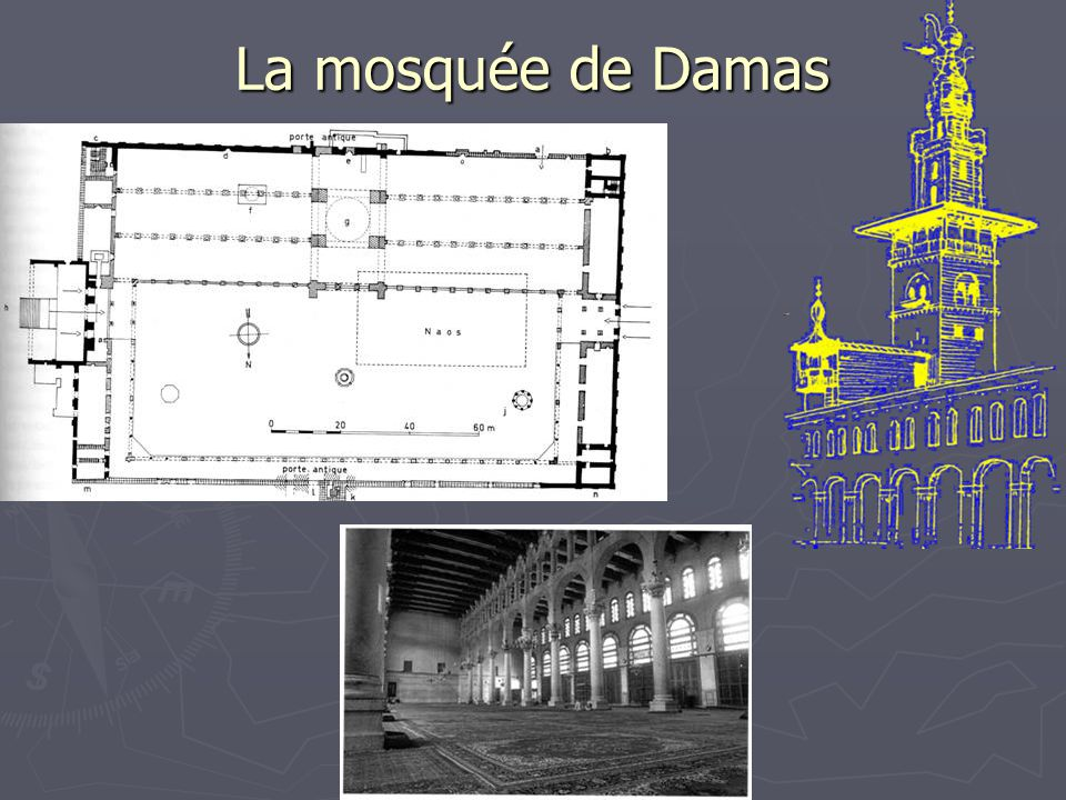 La mosquée de Damas
