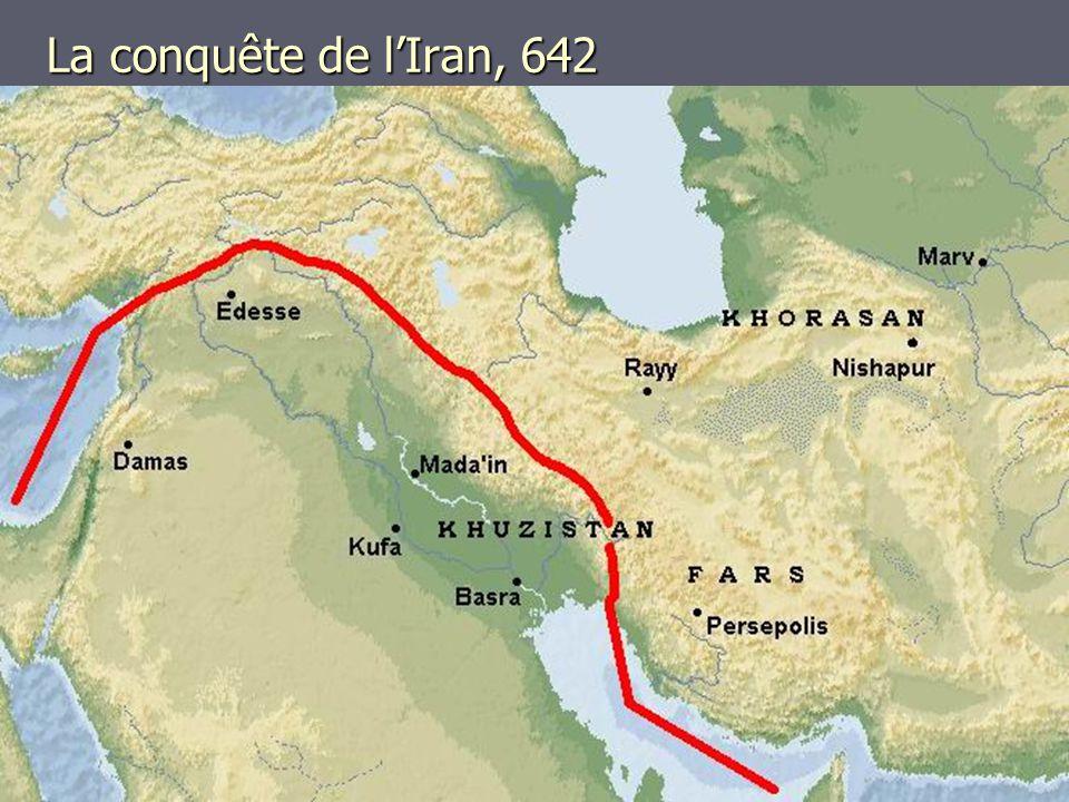 La conquête de l'Iran, 642