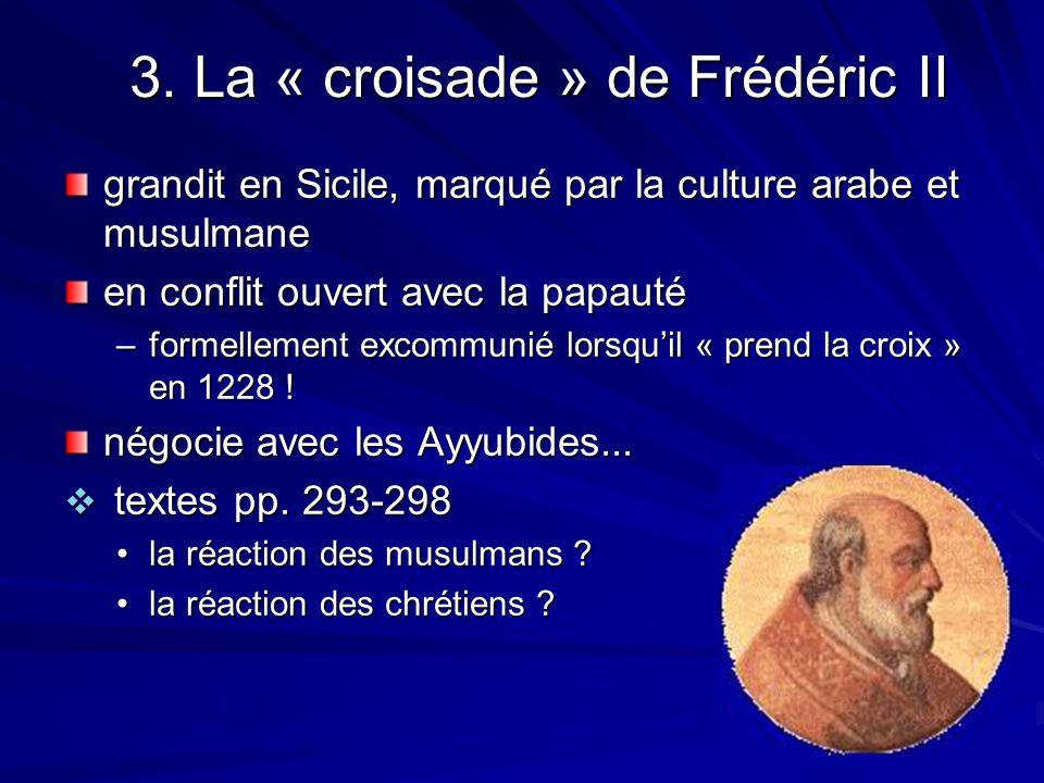 3. La « croisade » de Frédéric II