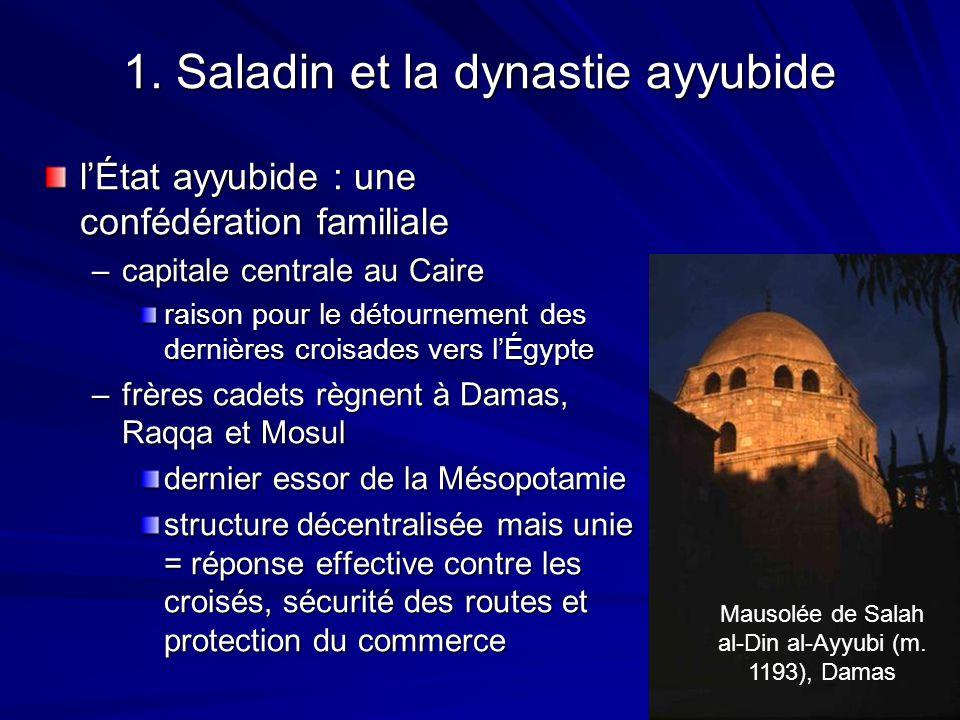 1. Saladin et la dynastie ayyubide