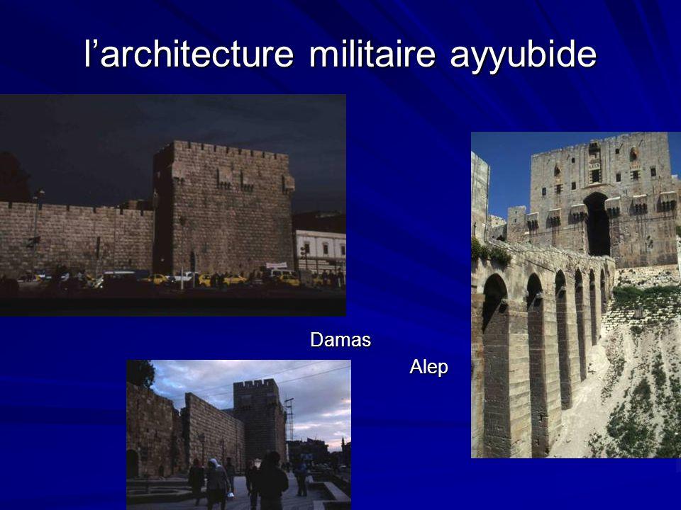 l'architecture militaire ayyubide