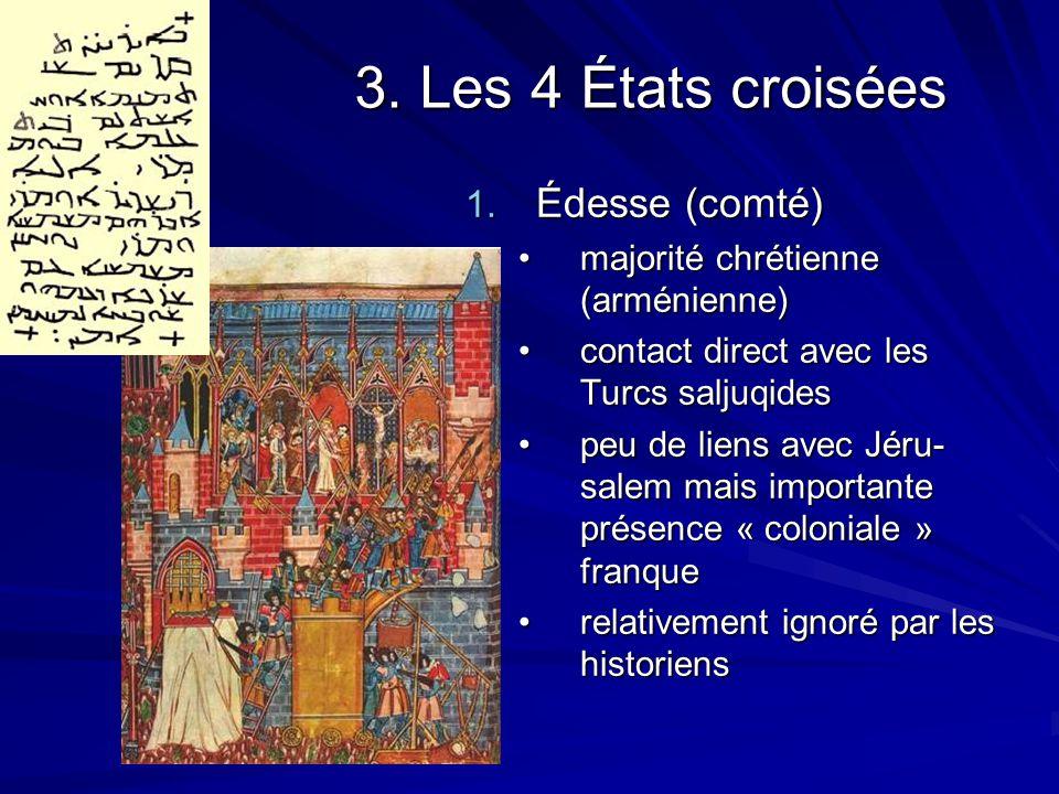3. Les 4 États croisées Édesse (comté)