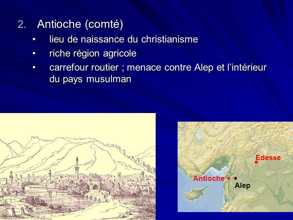 Antioche (comté) lieu de naissance du christianisme