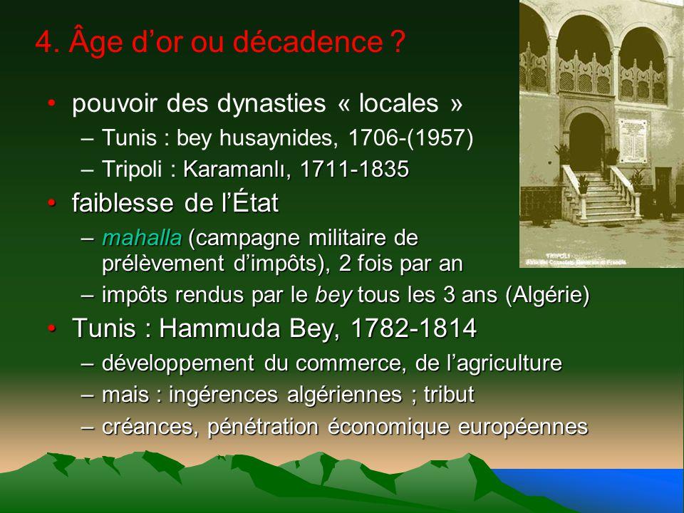 4. Âge d'or ou décadence pouvoir des dynasties « locales »