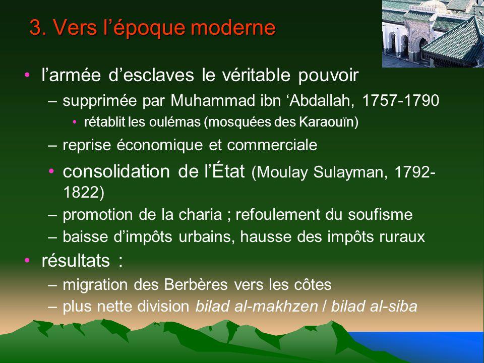 3. Vers l'époque moderne l'armée d'esclaves le véritable pouvoir
