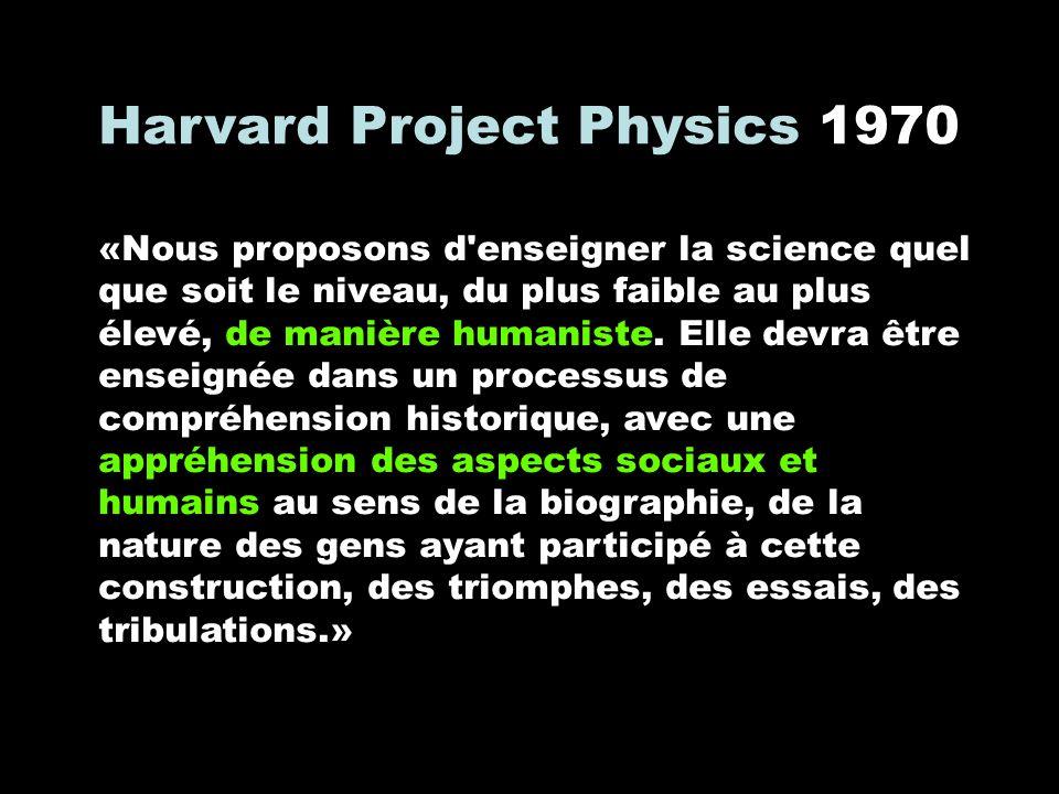 Harvard Project Physics 1970