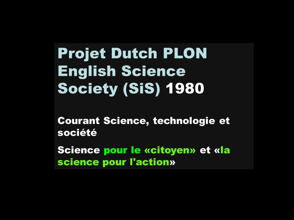 English Science Society (SiS) 1980