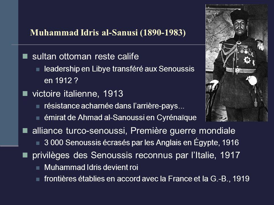 Muhammad Idris al-Sanusi (1890-1983)